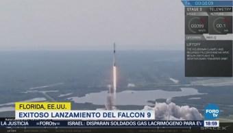 Exitoso lanzamiento del cohete Falcon 9