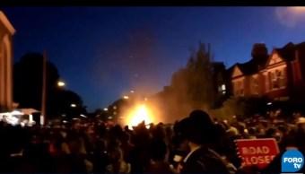 Explosión en fiesta judía deja 30 heridos, en Londres