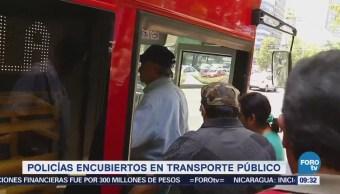 Extra Extra: Policías encubiertos en transporte público de CDMX