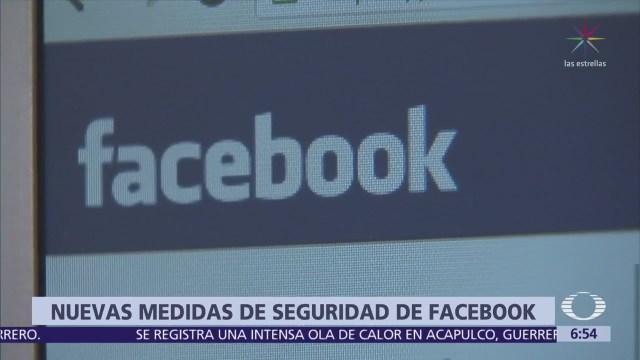Facebook anuncia nuevas medidas de seguridad