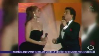 Flashback: Lucía Méndez y José José cantan 'Enamorada'