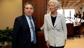 FMI apoyará Argentina enfrentar crisis financiera
