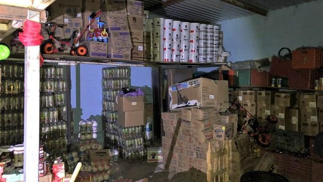 semar asegura mas siete toneladas mercancía robada tren puebla