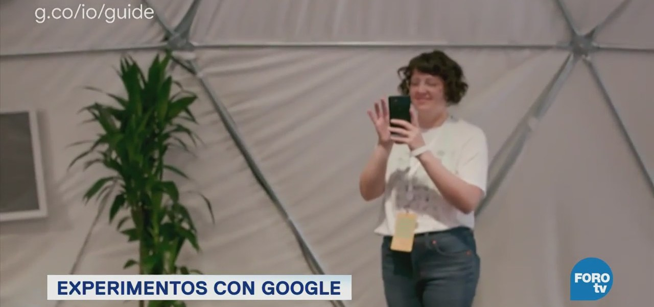 Experimentos Google Feria Desarrolladores Google I/O