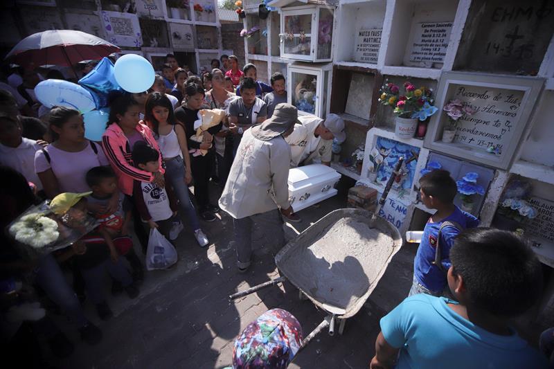 Delincuencia convierte el bautizo de Tadeo funeral