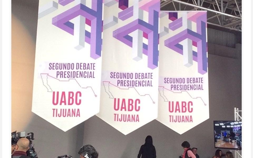 Alistan detalles en la sede del segundo debate de candidatos a la Presidencia