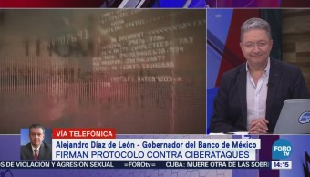 Gobernador Banxico Detalla Protocolo Contra Ciberataques