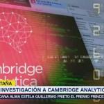 Gran Bretaña seguirá investigando Cambridge Analytica