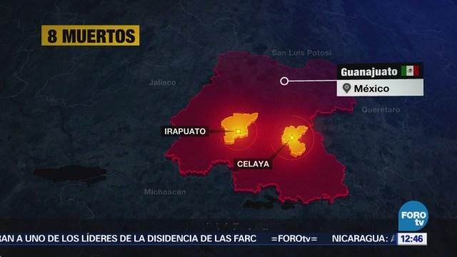 Grupo Armado Ataca Policías Municipales Tomelópez, Guanajuato