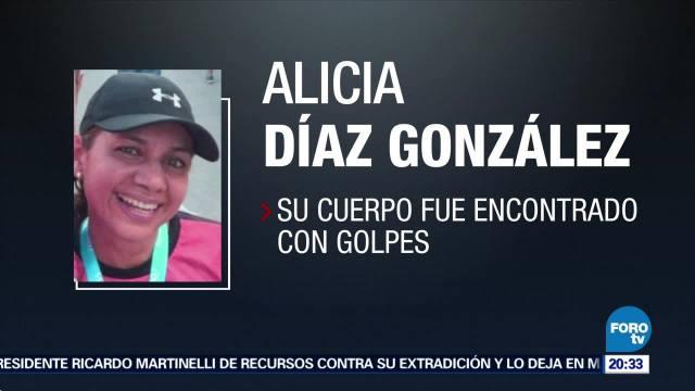 Hallan Sin Vida Reportera Alicia Díaz González