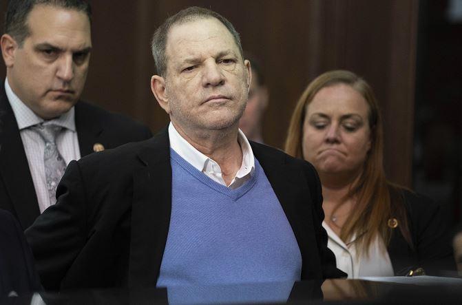 Jurado acusa formalmente a Weinstein de violación