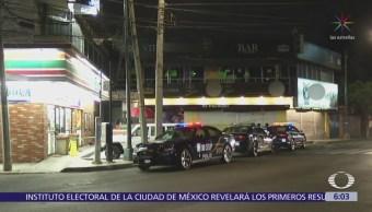 Hieren de bala a mujer en baño de antro en Prado Coapa
