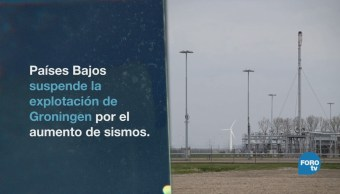 Holanda Cancela Explotación Gas Actividad Símica
