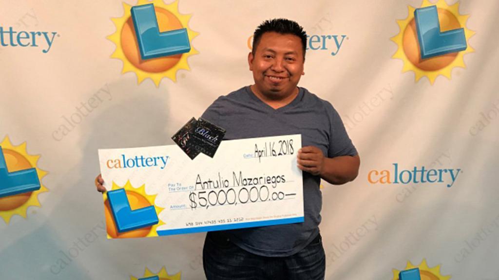 Hombre de mucha suerte: gana la lotería cuatro veces en seis meses