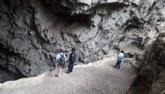 localizan cuerpos jovenes cacahuamilpa desaparecidas gruta