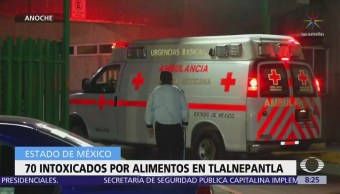 IMSS atiende a más de 70 intoxicados en Tlalnepantla