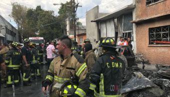 Se registra incendio en predio de la delegación GAM, en la CDMX