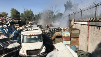 bomberos controlan incendio aragon gustavo madero