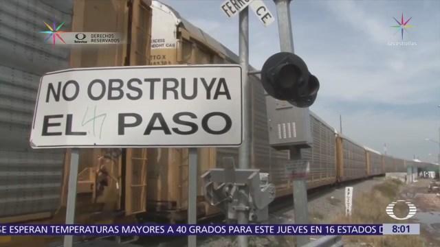 Incrementa robo y sabotaje contra trenes en México