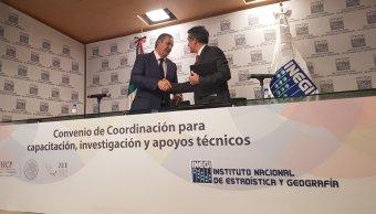 INEGI firma convenio para el desarrollo de Zonas Económicas Especiales