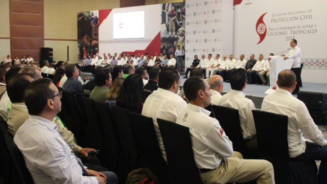 Instalan Consejo Nacional de Protección Civil