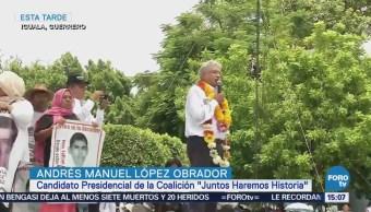Instalaremos Comisión Verdad Caso Ayotzinapa Amlo