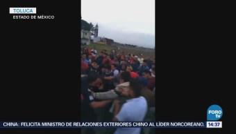 Intentan Linchar Presuntos Ladrones Tlaxomulco Toluca