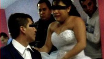 retrato-novio-novia-boda-estado-de-mexico-fue-interrumpida-agentes-policia-capturar-posible-feminicida