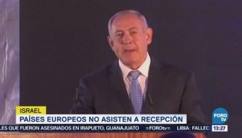 Israel Realiza Recepción Previo Apertura Embajada Eu Jerusalén