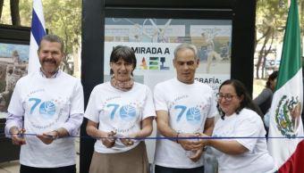 México celebra la amistad con Israel con exposición fotográfica