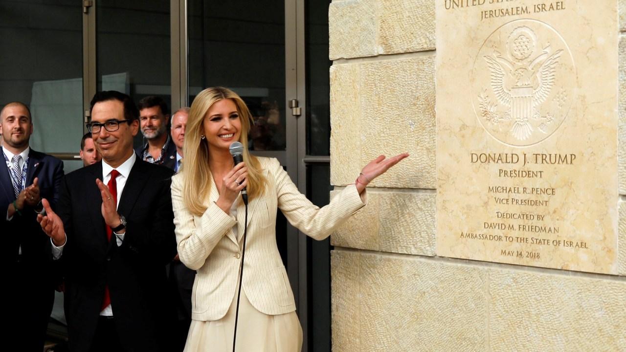 Estados Unidos inaugura embajada en Jerusalén