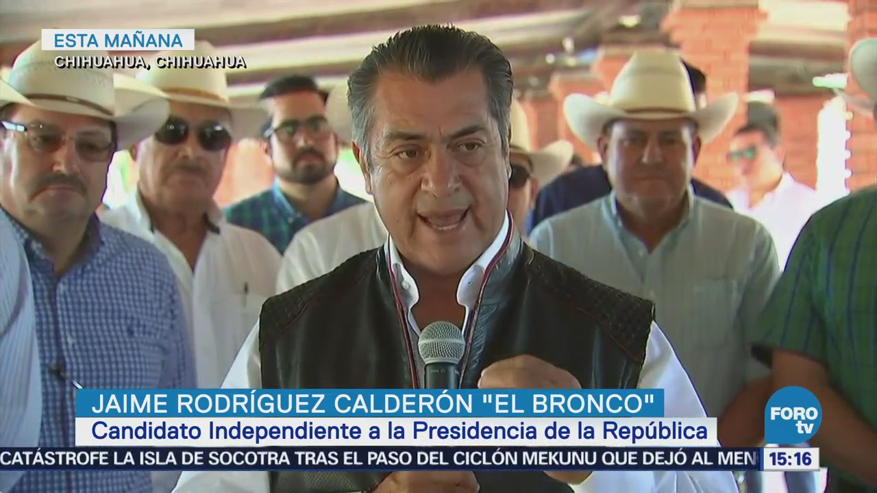 Jaime Rodríguez Calderón destaca importancia del campo