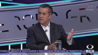 Jaime Rodríguez El Bronco expuso su plataforma