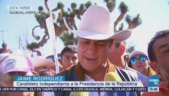Jaime Rodríguez Ofrece Impulsar Desarrollo Neoleonés