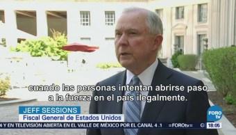 Jeff Sessions Envía Frontera Fiscales Jueces