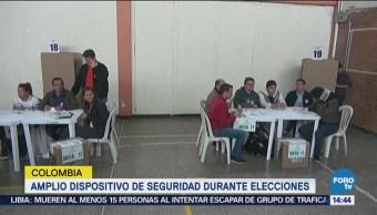 Jornada Elecciones Presidenciales Colombia Presidente Votaciones