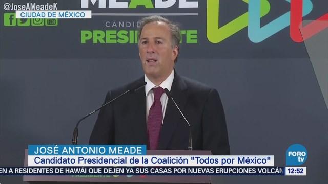 José Antonio Meade extendería programa 'Prospera' para combatir pobreza y desigualdad