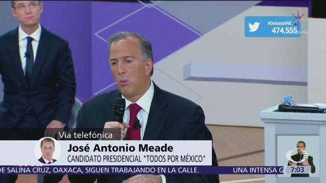 José Antonio Meade habla en Despierta del segundo debate presidencial
