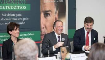 José Antonio Meade presenta libro con su visión de país
