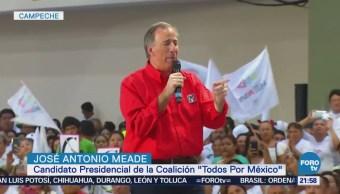 José Antonio Meade Realiza Campaña Campeche
