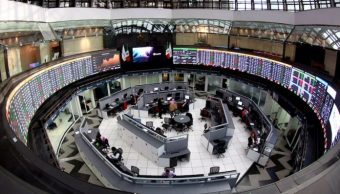 La Bolsa Mexicana de Valores inicia operaciones a la baja