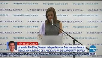 La renuncia de Zavala abre el proceso a revisión de candidaturas