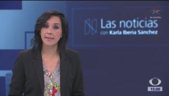 Las Noticias con Karla Iberia Programa del