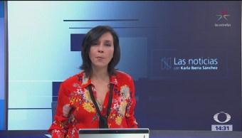 Las Noticias, con Karla Iberia: Programa del 15 de mayo de 2018
