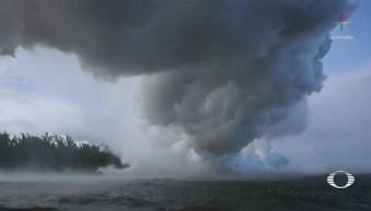 Lava del Kilauea genera nubes tóxicas