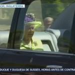 Llega Reina Isabel Ii Boda Príncipe Enrique