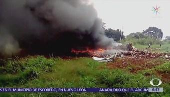 Llegan a CDMX restos del piloto fallecido