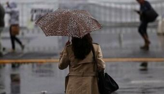 Activan alerta amarilla en cuatro delegaciones de la CDMX por lluvias