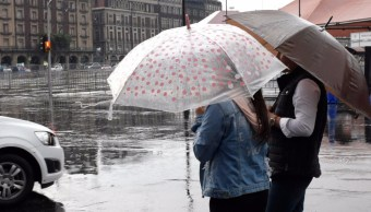 Autoridades reportan lluvia ligera en cinco delegaciones de la Ciudad de México