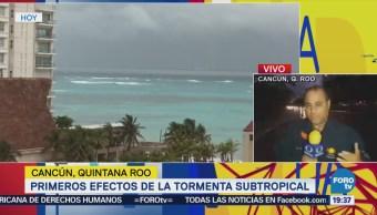 Lluvias Quintana Roo Afectan Turistas Cancún